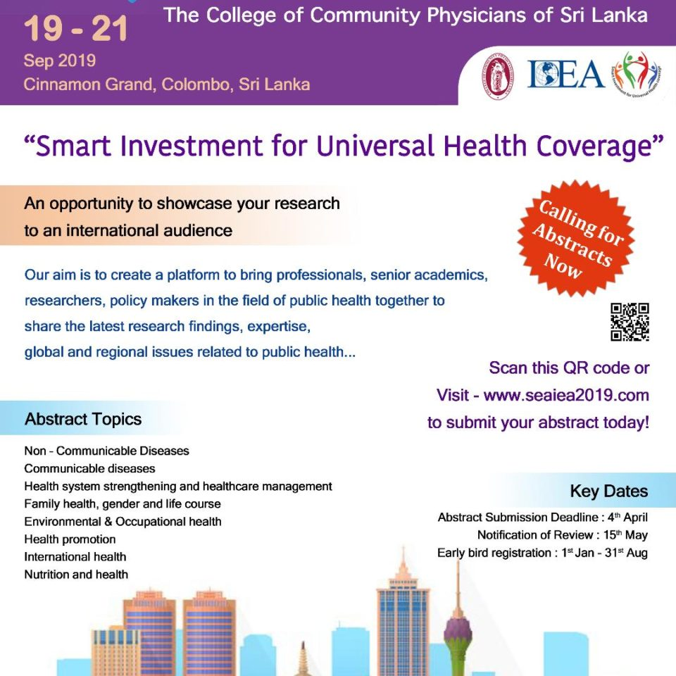 Home Page · College of Community Physicians of Sri Lanka